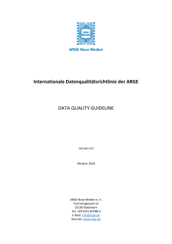 DQG international, Version 4.0, Deutsch, inkl. Anhänge