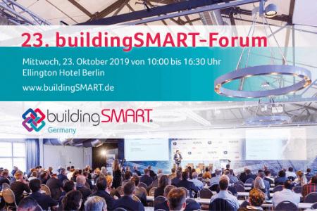 23. buildingSMART-Forum in Berlin – den digitalen Wandel mitgestalten