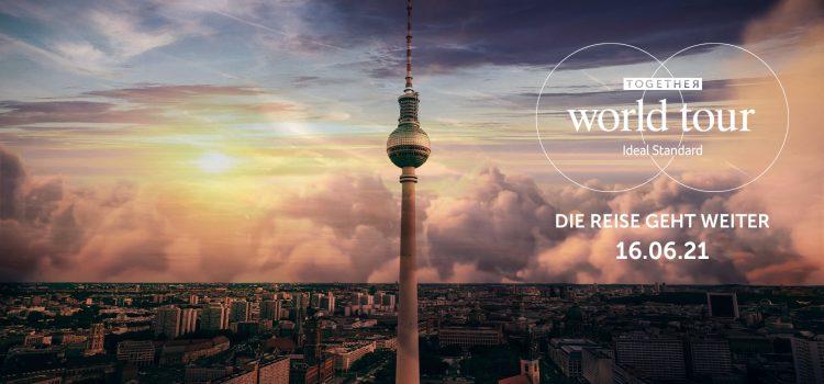 Willkommen in Berlin: Ideal Standard setzt Together World Tour fort