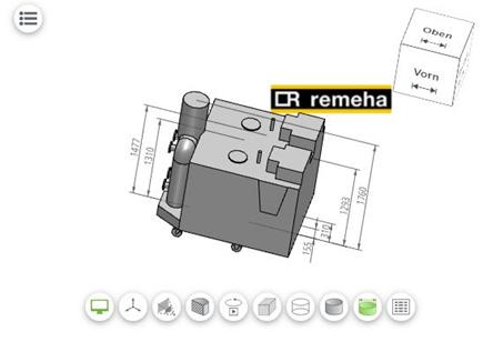 Remeha bietet BIM- und CAD-Modelle zum Download