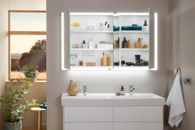 Neuer Spiegelschrank My View Now – Optimal in Sachen Stauraum, Licht und Design fürs Bad