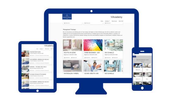 Villeroy & Boch: Start der neuen Online-Lernplattform ViAcademy