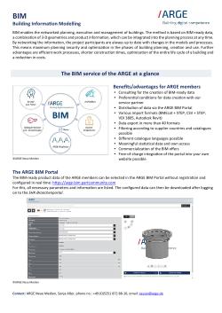 BIM service description