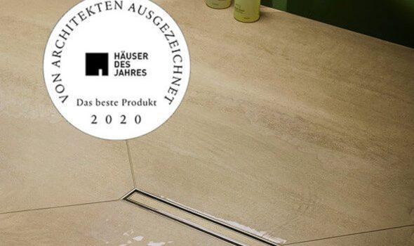 """Dallmer: Duschrinne ausgezeichnet als """"Produkt des Jahres"""""""