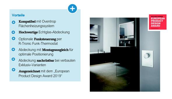 """Die neue """"Unibox"""" – das Highlight im Bad mit Echtglas-Abdeckung"""