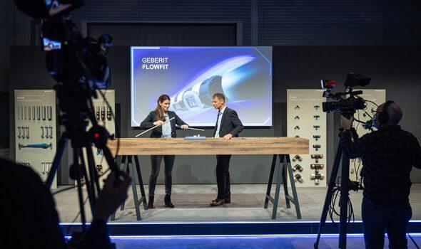 "Geberit: Digitaler Geberit NeuheitenTreff 2021 ""Geberit on Air"" präsentiert Neuheiten im Livestream"