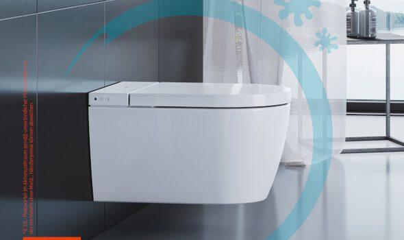Duravit WC gekauft – HygieneGlaze geschenkt