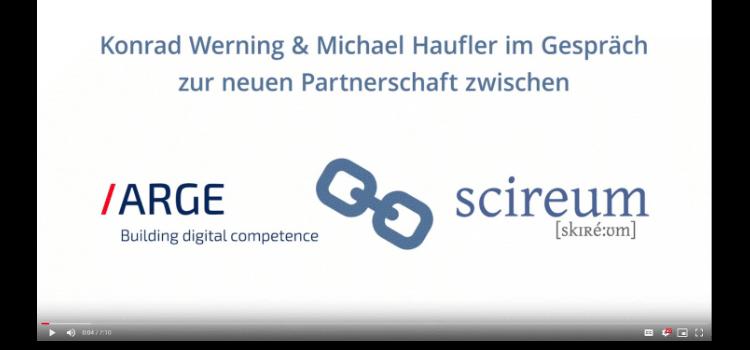 Neue Partner: ARGE und scireum