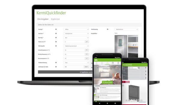 Kermi: Neue KermiQuickfinder App