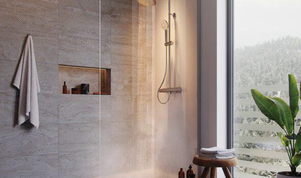 Neue Thermostat-Duschserie für ein einzigartiges Duscherlebnis