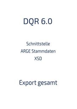 Download Schnittstelle Stammdaten XSD 6.0 Export gesamt