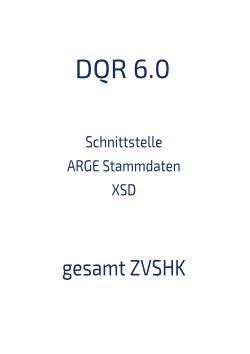 Download Schnittstelle Stammdaten XSD gesamt ZVSHK 6.0