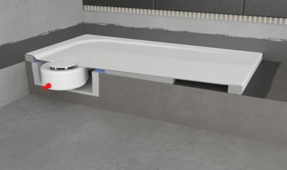 Spart Zeit und reduziert die Kosten: die Kaldewei Installationsbox S-IX