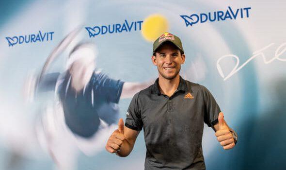 Tennisstar Dominic Thiem wird Markenbotschafter
