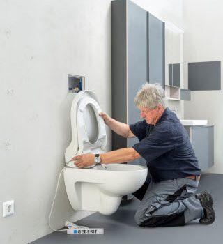 Test@Home: Erfolgreiche Dusch-WC-Testaktion von Geberit