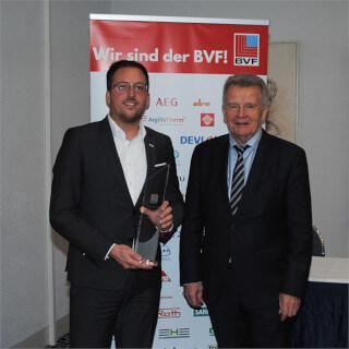 """Unidis"" Flächenheizungssystem gewinnt ""BVF Award 2019"""